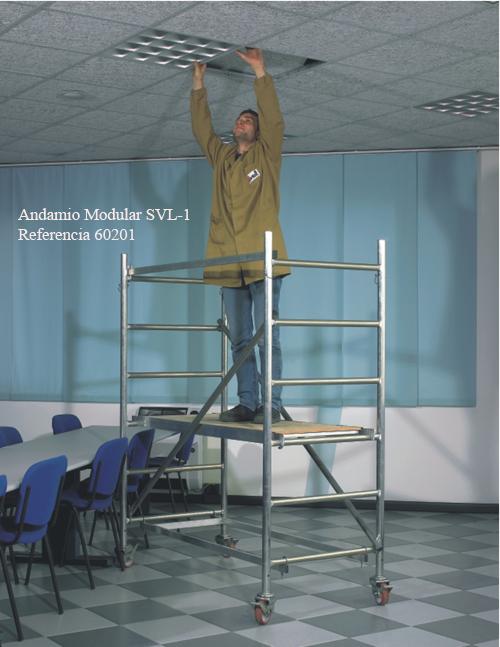 Andamios de aluminio Modulares SVL. Imagen #3