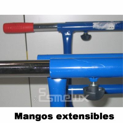 Carretillas en tubo de acero para bidones. Imagen #5