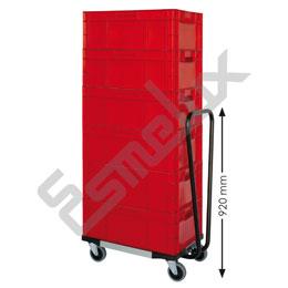 Bases con ruedas para cajas Eurobox. Imagen #3