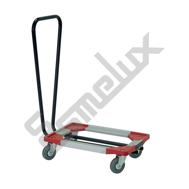 Bases con ruedas para cajas eurobox for Cajas plasticas con ruedas