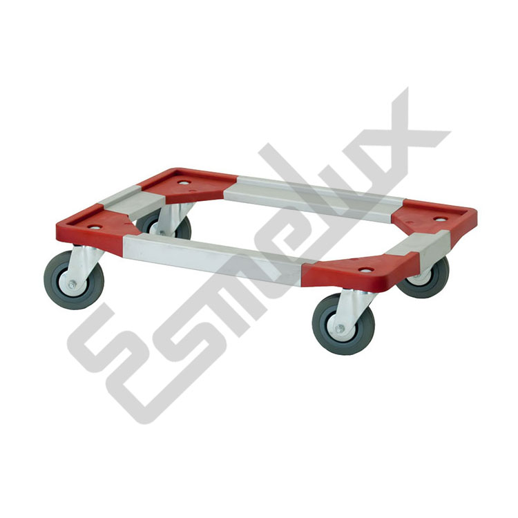 Bases con ruedas para cajas Eurobox. Imagen #1