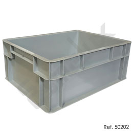 Caja apilable Eurobox norma europea