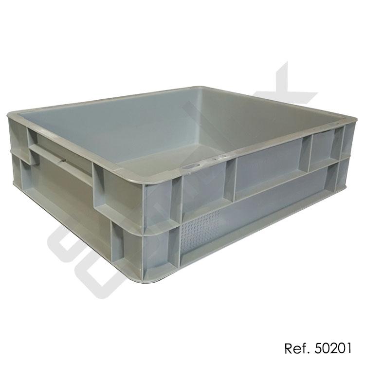 Base con ruedas para cajas apilables referencia 50217 for Cajas plasticas con ruedas