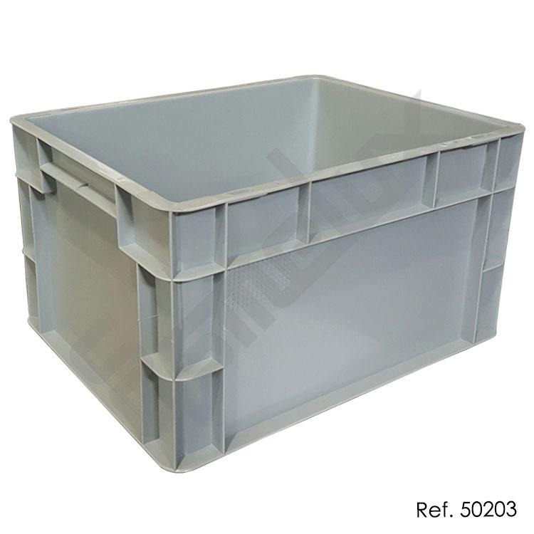 Caja apilable eurobox norma europea referencia 50203 - Cajas de polipropileno ...