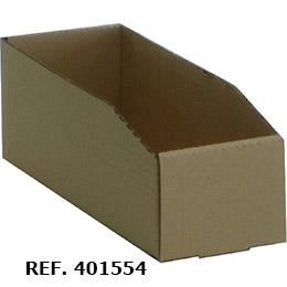Lote de 25 cajas de cartón ondulado sencillo