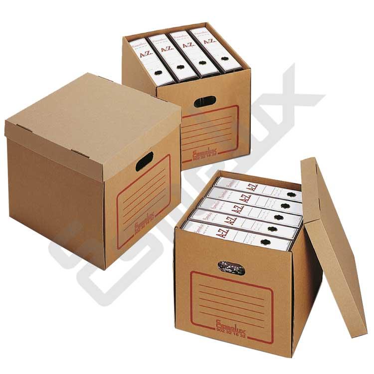 Lote de 20 cajas de cartón super resistente