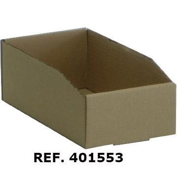 Cajas de cartón ondulado para estanterías. Imagen #2