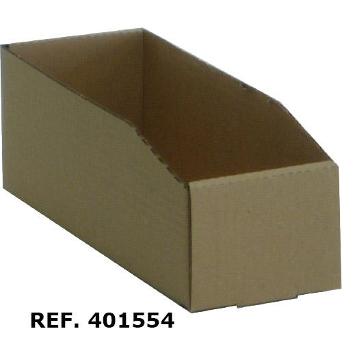 Cajas de cartón ondulado para estanterías. Imagen #3