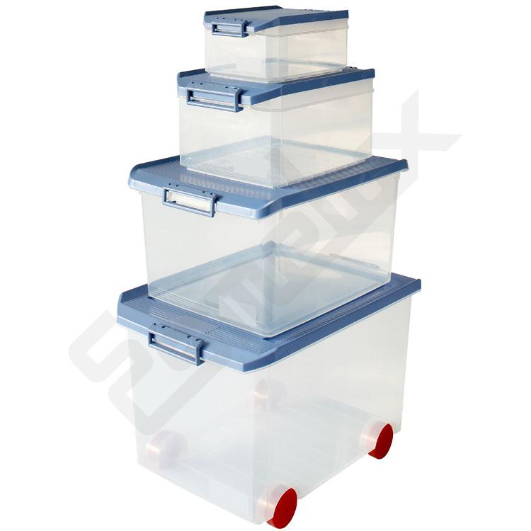 Caja Multiuso Transparente con Tapa  - Esmelux. Imagen #1