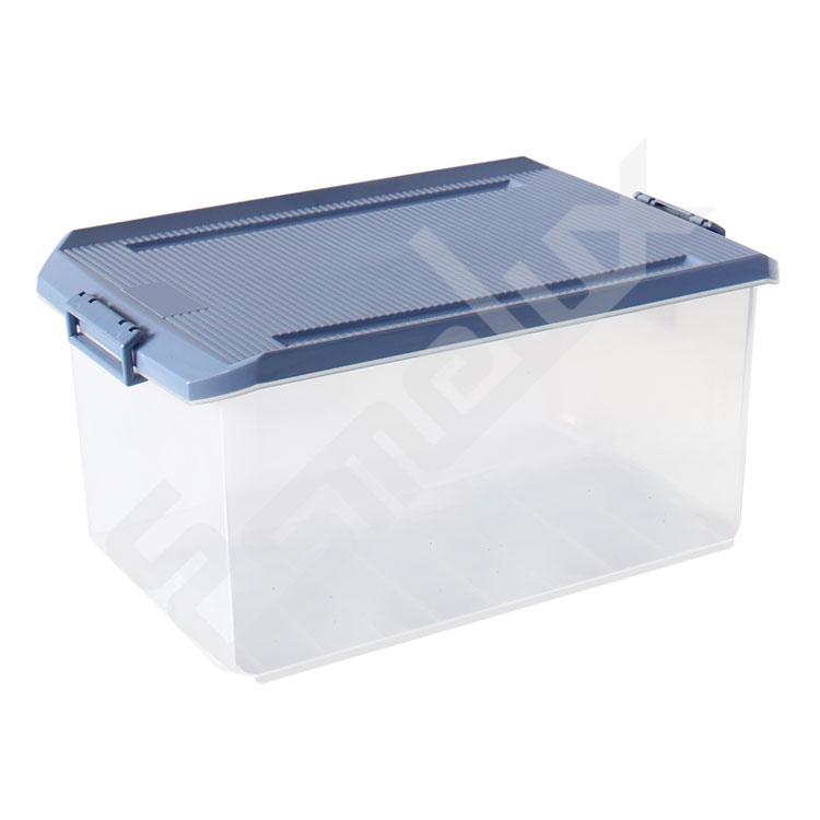Estantería con Cajas Transparentes. Imagen #2