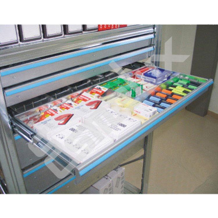 Cajones extraíbles para estanterías metálicas. Imagen #4