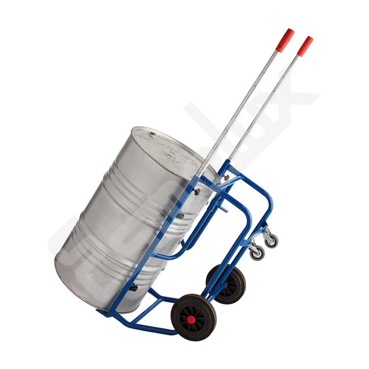 Carretillas en tubo de acero para bidones. Imagen #0