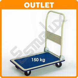 OUTLET Carro plataforma con asa plegable