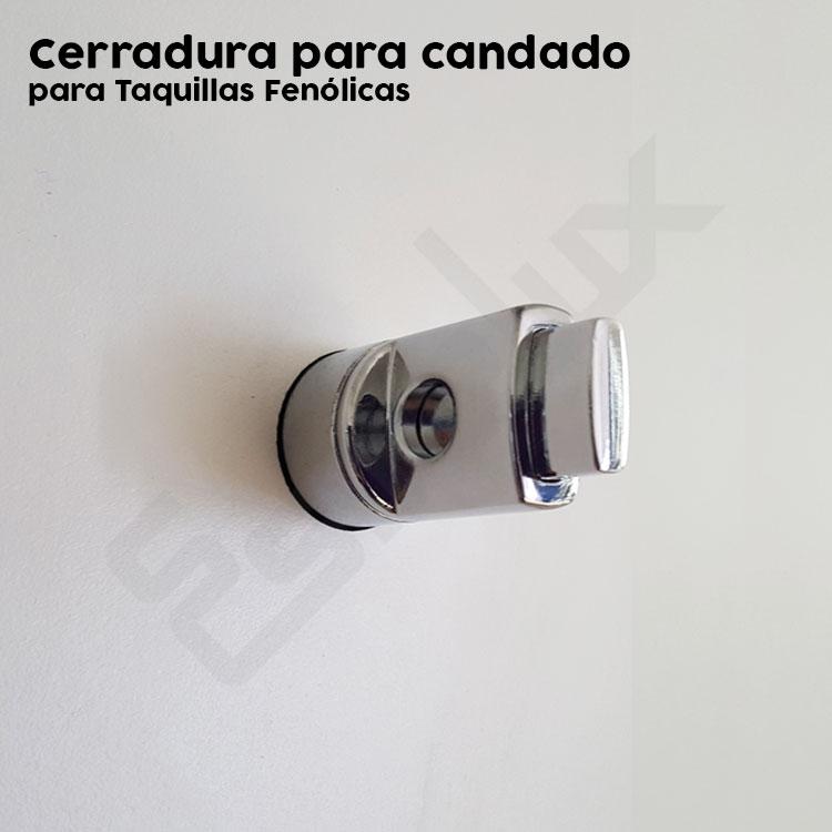 Taquillas fenólico y melamina puertas en L. Imagen #4