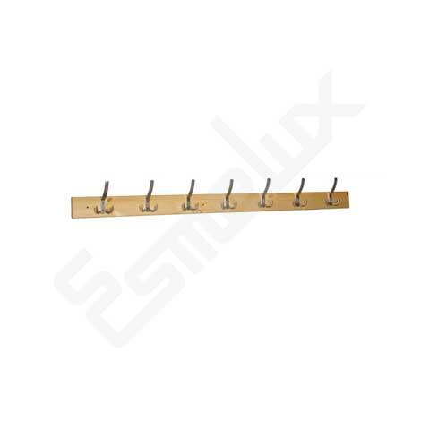 Colgador MG madera con 7 ganchos