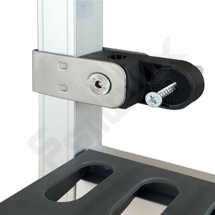 Estanterías aluminio con polipropileno 2000mm. Imagen #2