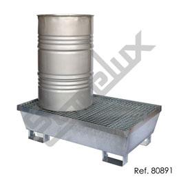 Cubeto colector de acero