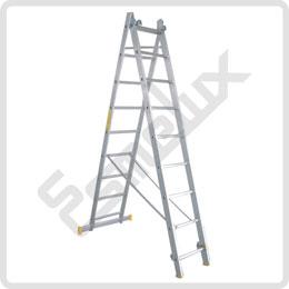 Escalera de aluminio TR de 2 tramos