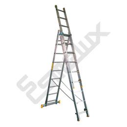 Escalera de Aluminio Multiusos TR de 2 y 3 tramos. Imagen #3