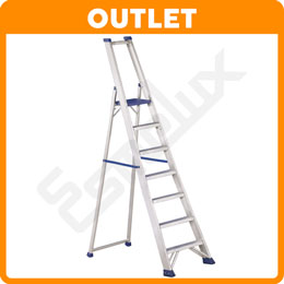 OUTLET Escalera aluminio industrial plegable REG