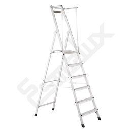 Escaleras aluminio tijera Z-Plus seguridad
