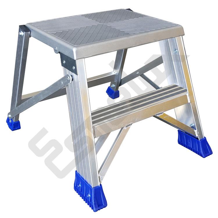 Escalera Taburete en aluminio. Imagen #1