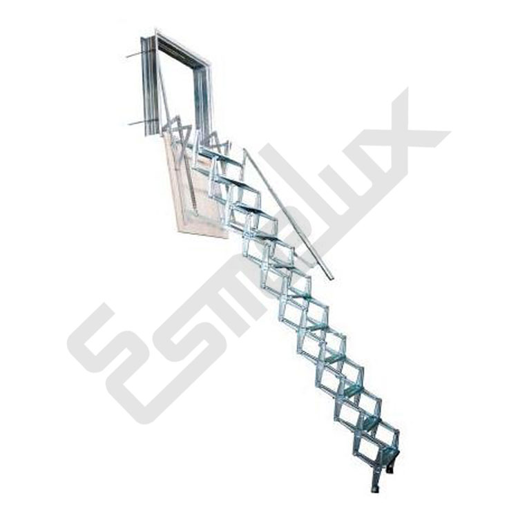Escaleras de pared tipo fuelle for Adornos para paredes de escaleras