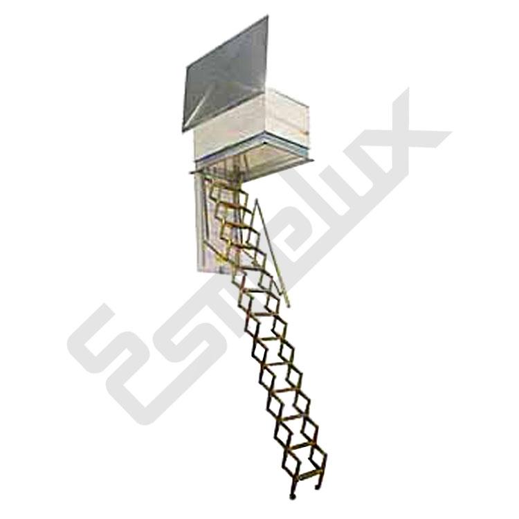 Escaleras de terraza tipo fuelle - Escaleras de techo ...