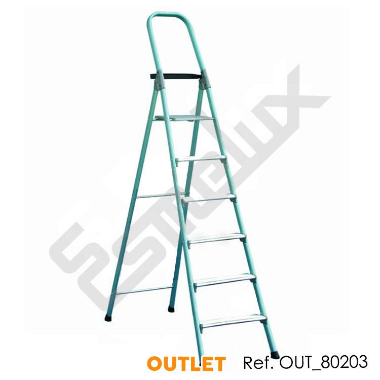 Escalera de aluminio plegable mg - Escaleras metalicas plegables ...