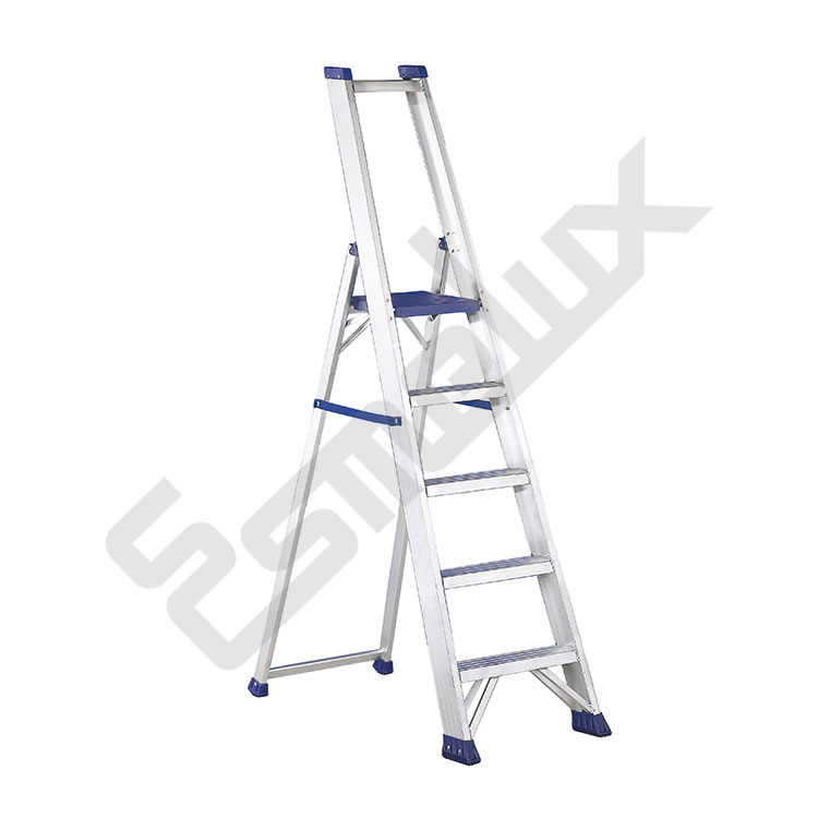 Escalera aluminio industrial plegable reg referencia 805294 for Escaleras plegables de aluminio para altillos