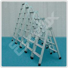 Escaleras dobles en aluminio SD2. Imagen #1