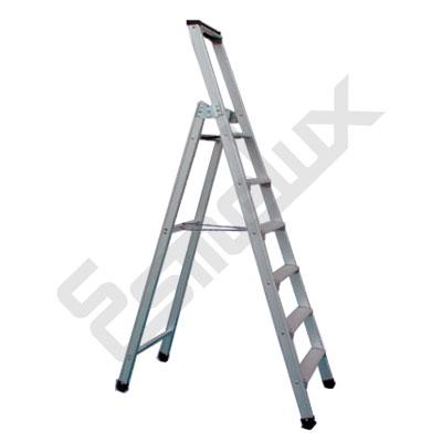 Escalera de aluminio de tijera sd1 referencia 80144 for Precios de escaleras de tijera de aluminio