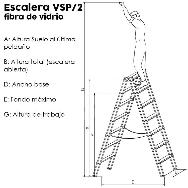 Escaleras de fibra VSP/2. Imagen #1