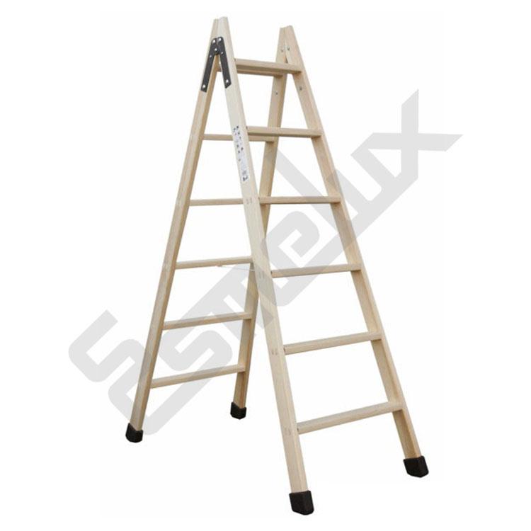 Escaleras plegables de madera classic - Escaleras metalicas plegables ...