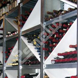 Estanterías metálicas Botelleras. Imagen #1