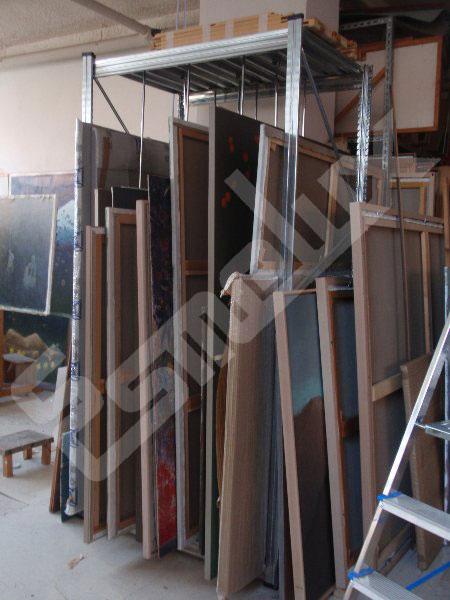 Estantería Galvanizada Artes Gráficas. Imagen #2