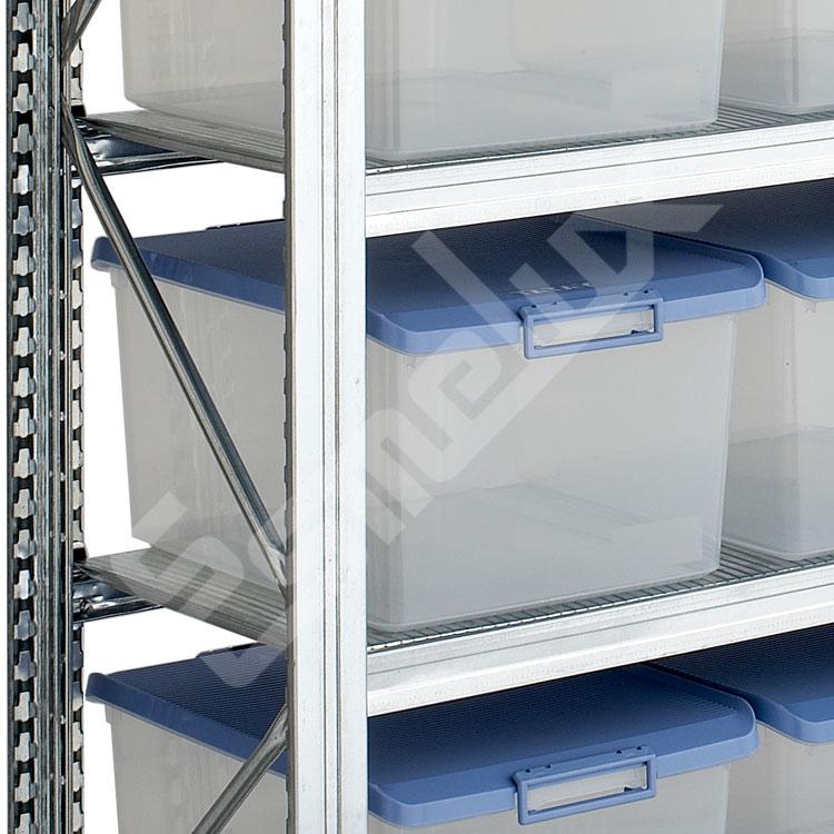 Estantería con Cajas Transparentes. Imagen #1
