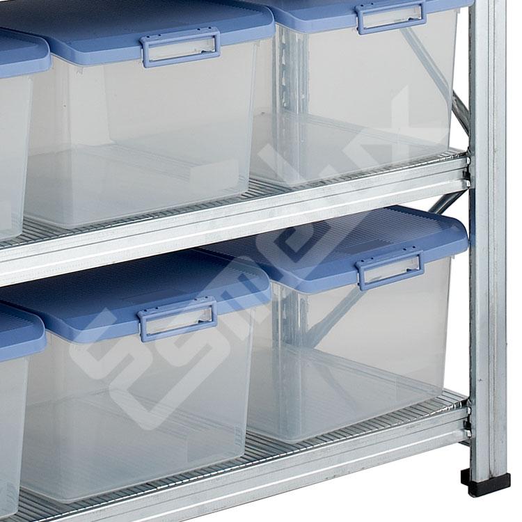 Estantería con Cajas Transparentes. Imagen #4