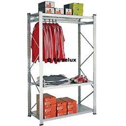 Conjunto porta perchas interior - Estanterias metalicas para trasteros ...