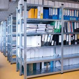 Estanterías Galvamil para archivadores definitivos. Imagen #2