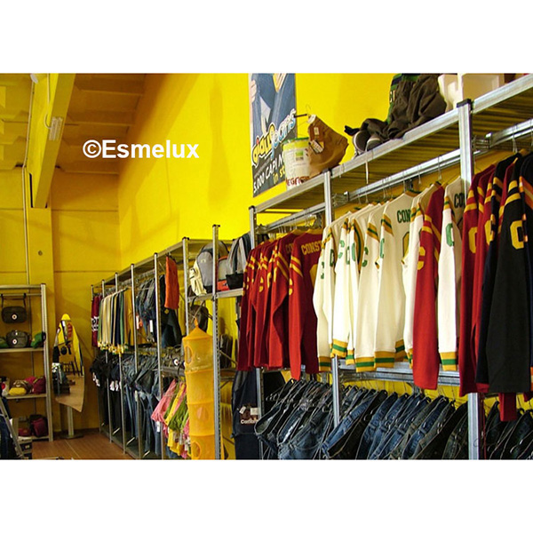 Estanter as para tiendas y comercios - Estanterias para ropa ...