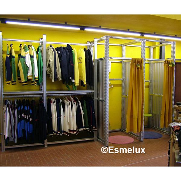 Dormitorio muebles modernos estanterias para tienda de ropa - Estanterias para ropa ...
