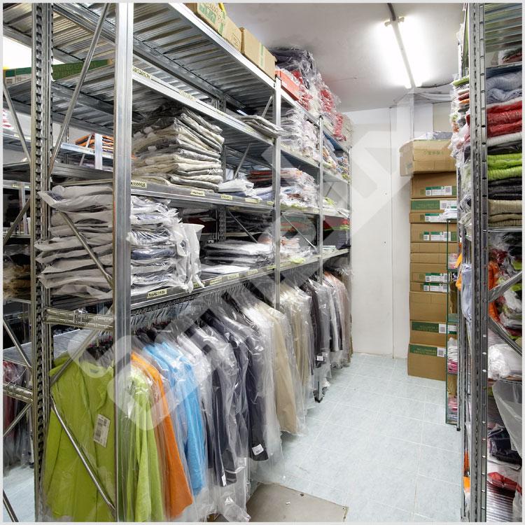 Estanter as para textil - Estanterias para ropa ...