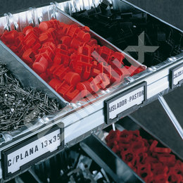Estantes con cestones y divisores. Imagen #0