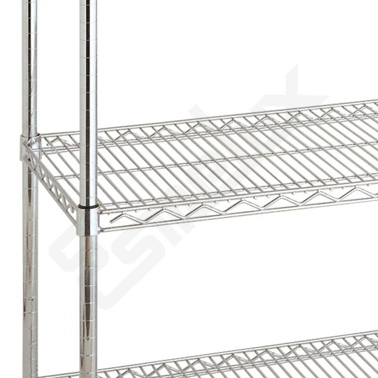 Estanterías cromadas 5 niveles - 1.600 mm altura. Imagen #2