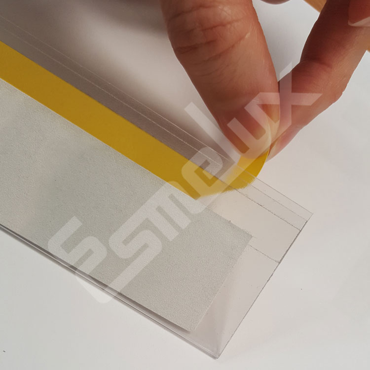 Portaetiquetas autoadhesivos de PVC. Imagen #2