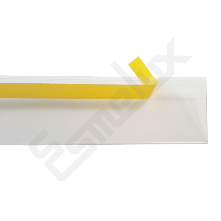 Portaetiquetas autoadhesivos de PVC. Imagen #3