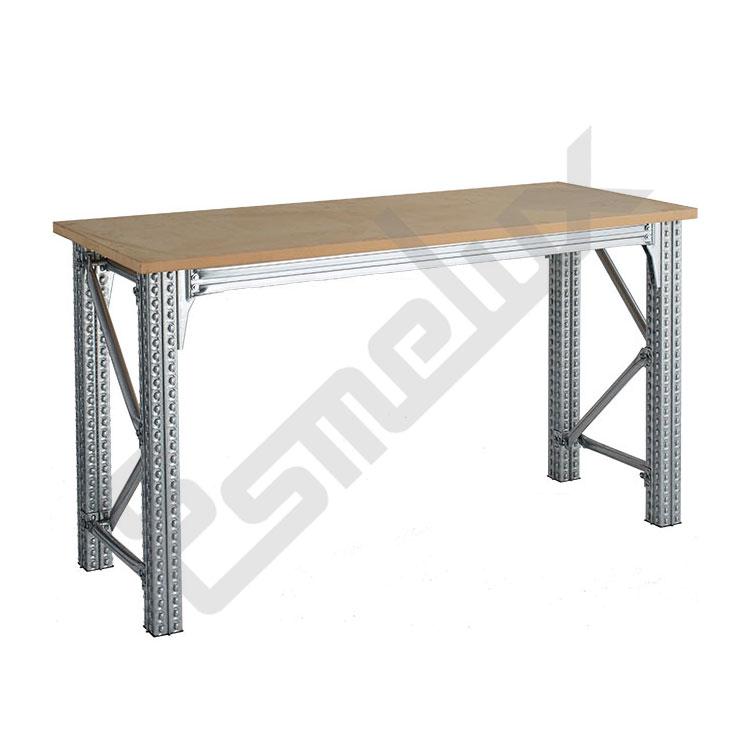 Mesas de trabajo ts para taller desmontables esmelux - Mesa de taller ...