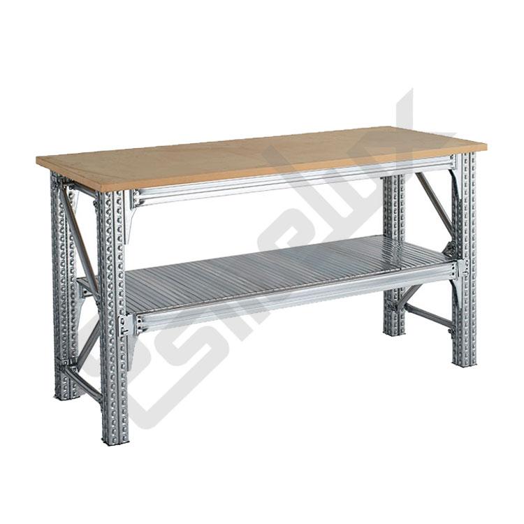 Mesas de trabajo TS con estante inferior. Imagen #0