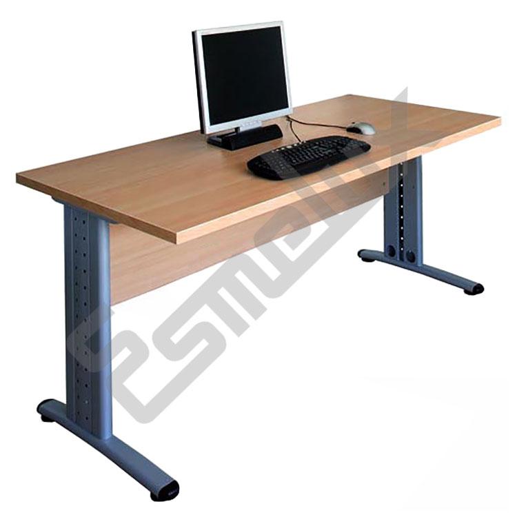 Mesa rectangular for Dimensiones mesa de trabajo